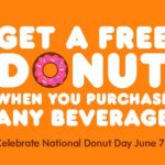 Free Donut Day! June 7th!