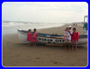 Family Vacation at Ocean City New Jersey