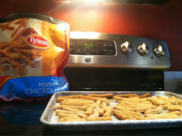 Tyson Chicken Fries and Dinner Time Solutions