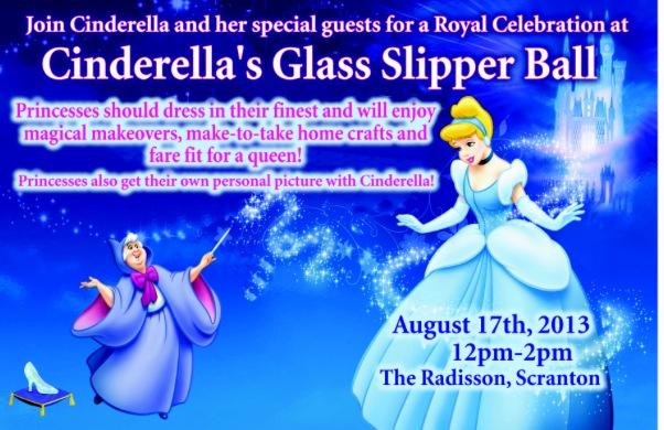 Cinderella's Glass Slipper Ball