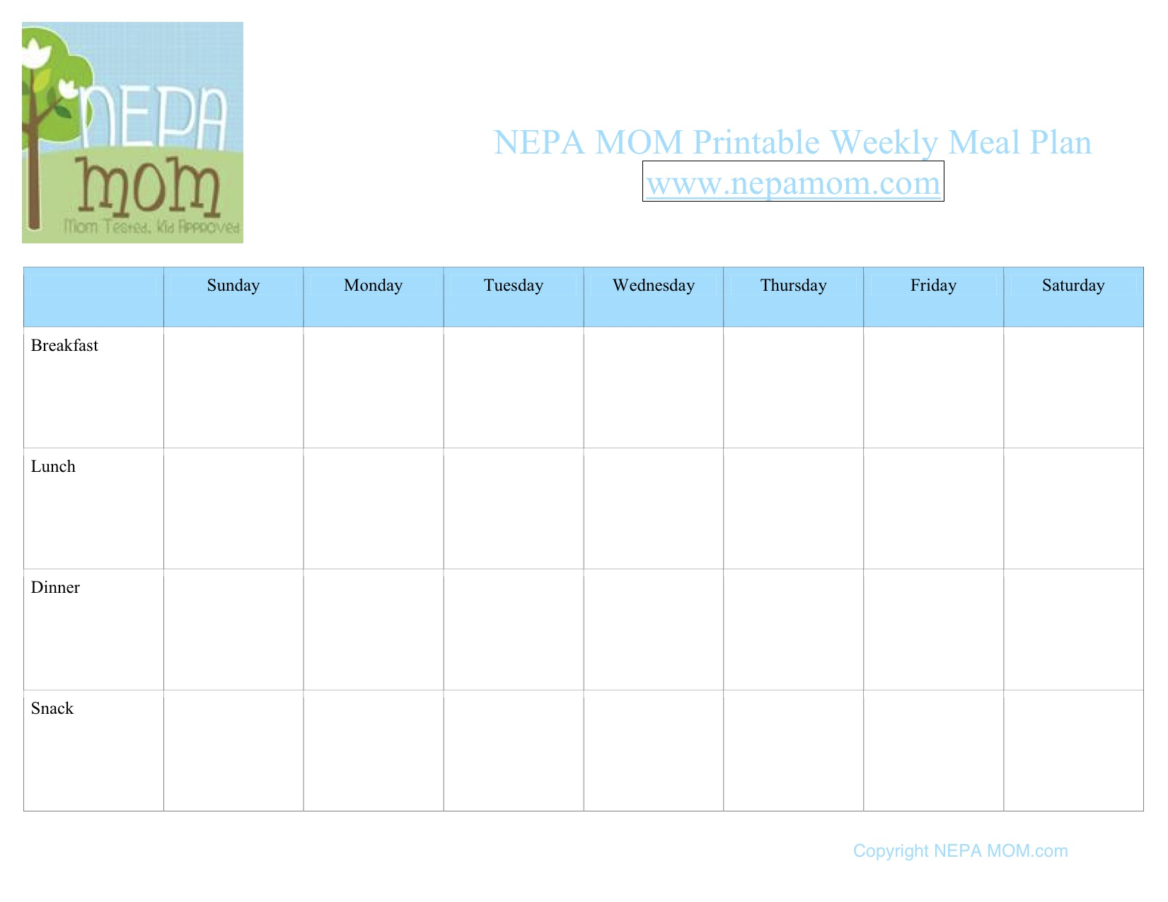 New Feature:  Meal Plan Mondays…and a confession!!
