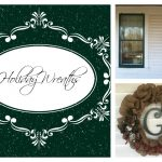 Personalized Holiday Wreaths from LV Inspirations
