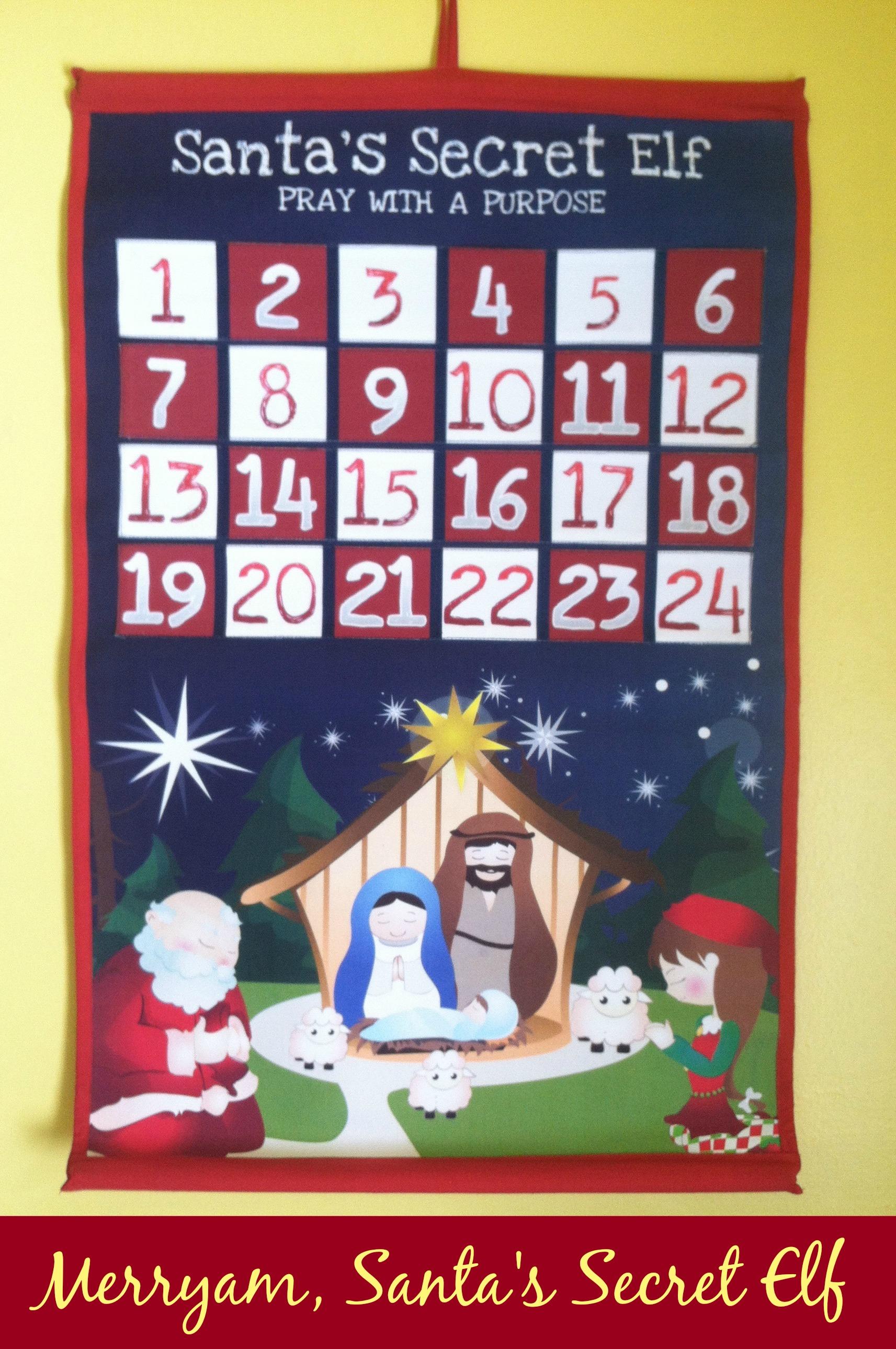 Merryam, Santa's Secret Elf Advent Calendar
