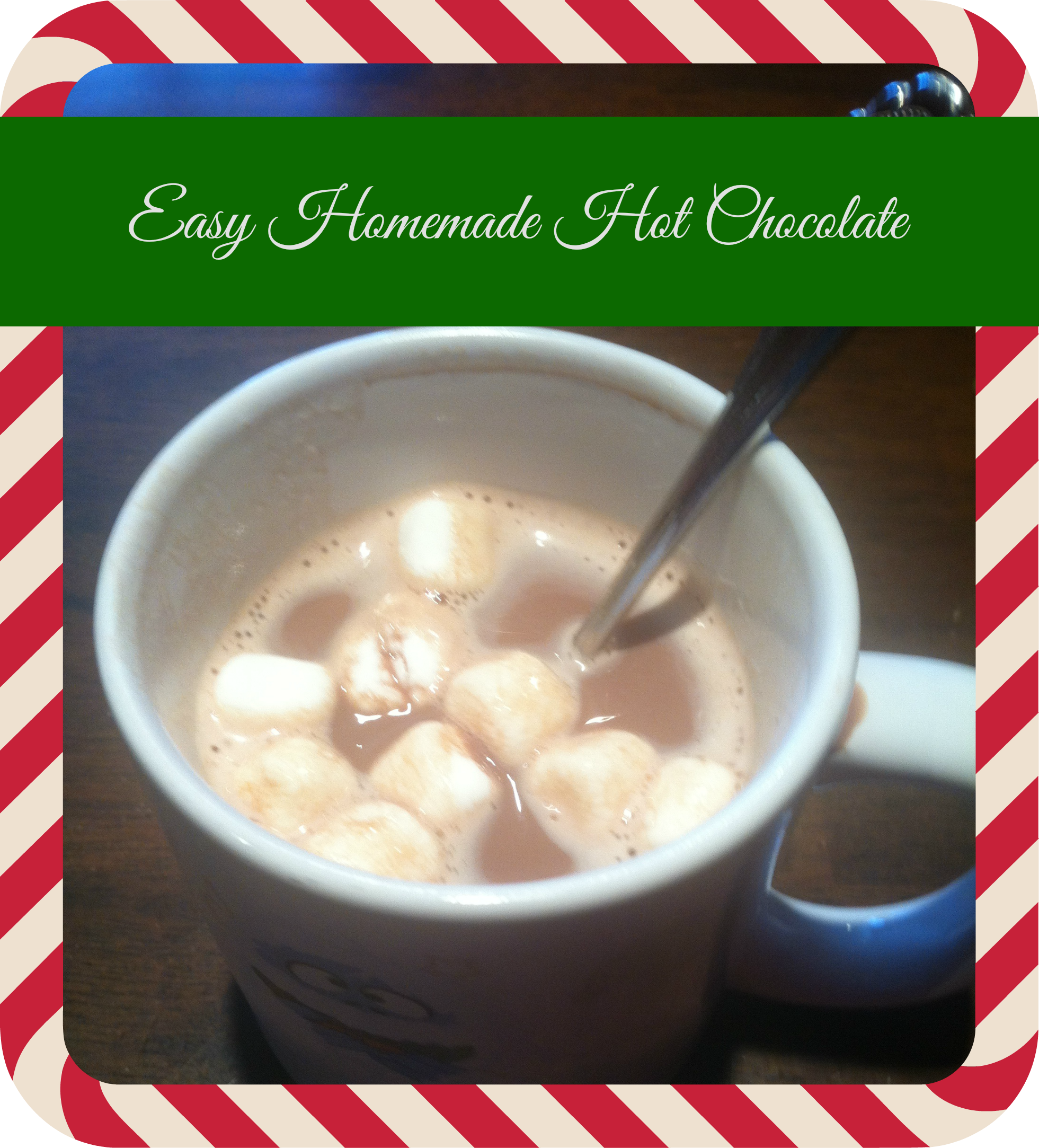 Easy Homemade Hot Chocolate
