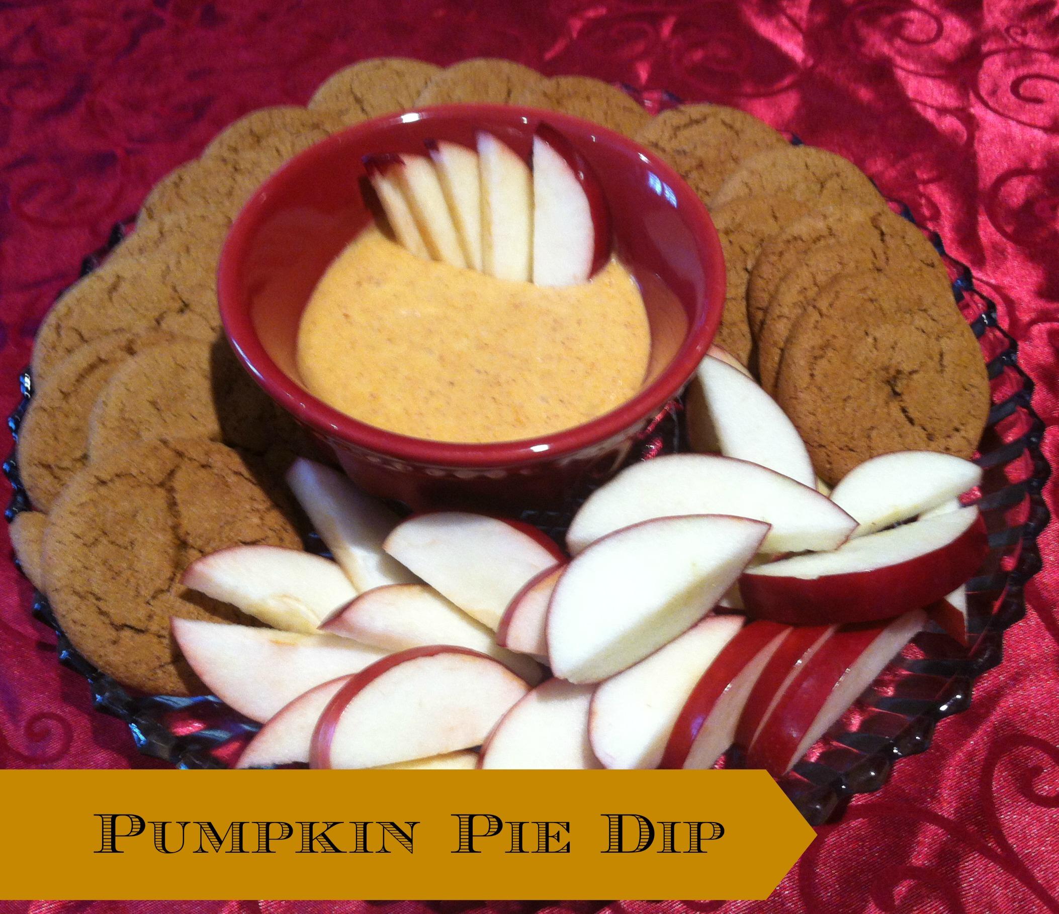 Delicious Pumpkin Dip