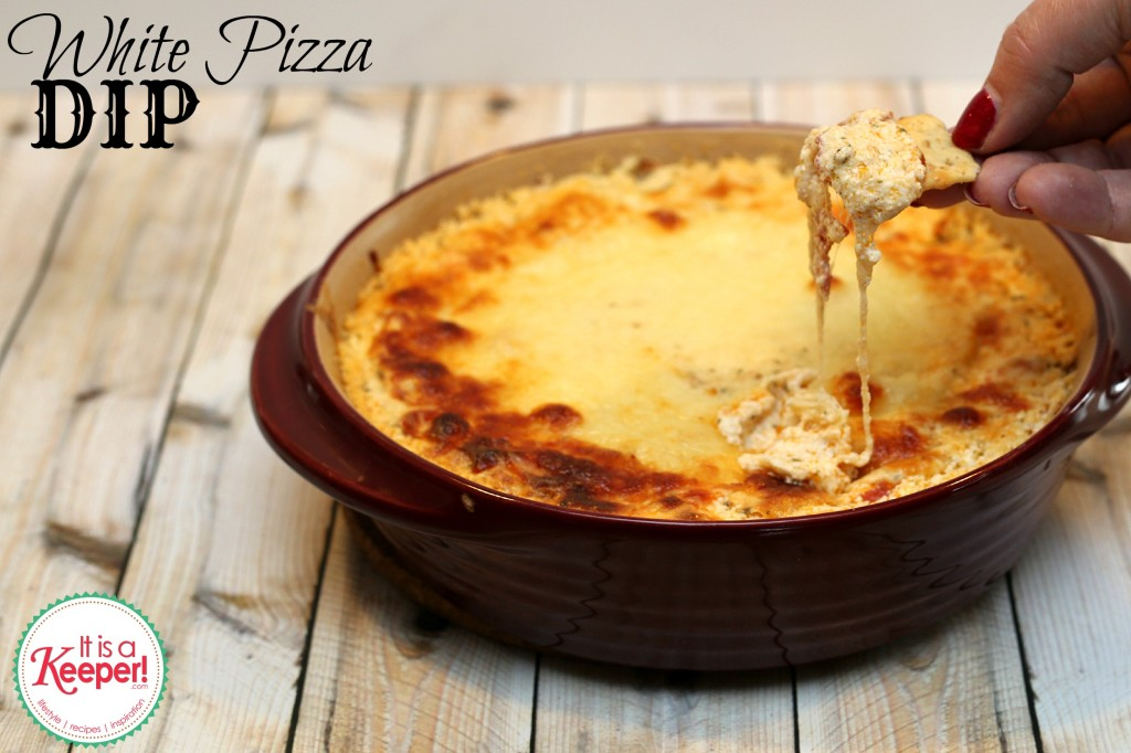 This easy pizza dip recipe for White Pizza Dip is so yummy and delicious and  is a perfect appetizer for your upcoming partiers!