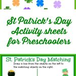 St Patrick's Day Activity Sheets