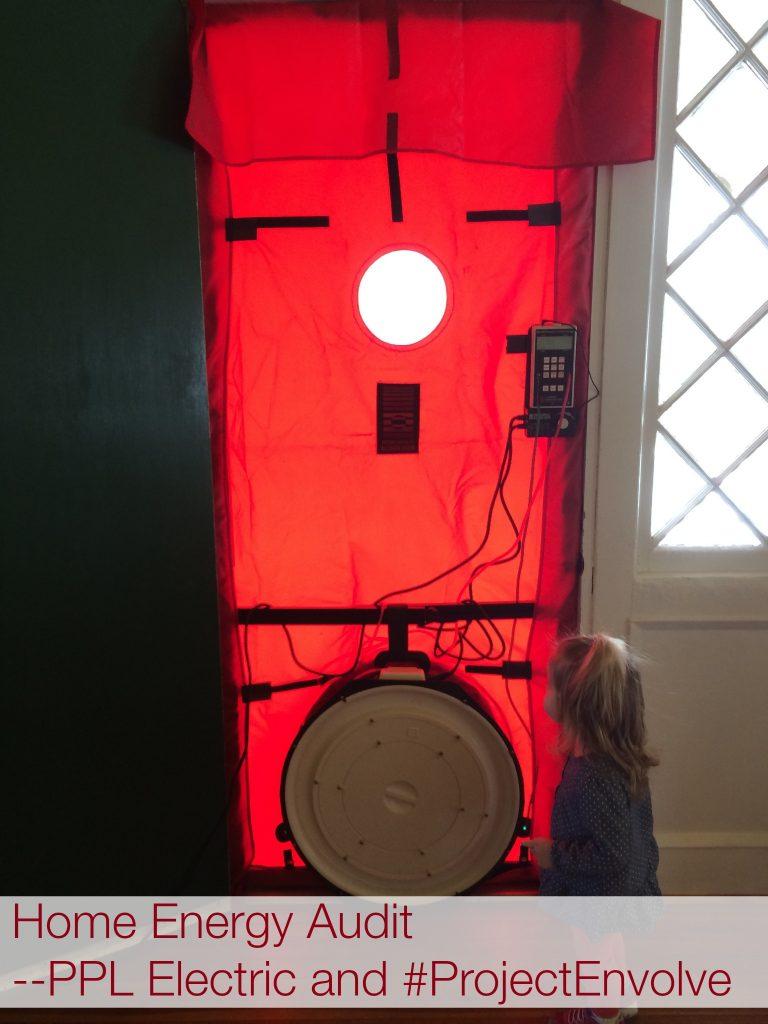 Blower Door Test PPL Energy Audit #ProjectEnvolve