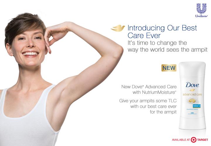 Dove Advanced Care with Nutrium Deorodorant