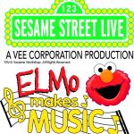Elmo Makes Music at Sesame Street Live at Mohegan Sun Arena