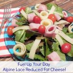 Fueling Up for my Busy Day with Alpine Lace Reduced Fat Swiss Cheese? Yes please!