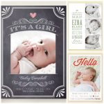 Personalized Invitations and Birth Announcements from Minted.com