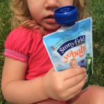 Stonyfield Yogurt Pouches–Nutrition on the Go!