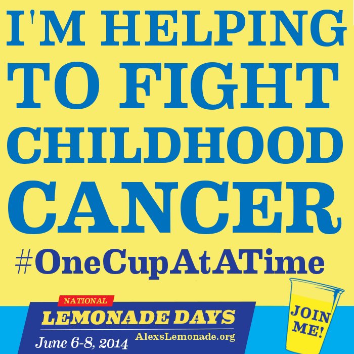 Want to do your part to combat Childhood Cancer? Why not learn more about hosting an Alex's Lemonade Stand with your kids? Get involved today!