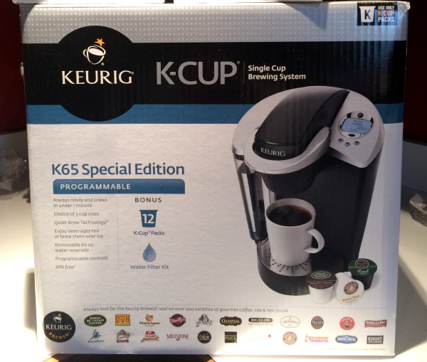 The Keurig Special Edition Brewer brews over ice so you can use it all year long to make both hot and cold beverages!!