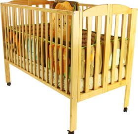 Coastal Baby Rentals Crib
