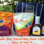 Giant Buy Theirs/Get Ours FREE Challenge and a Giveaway!