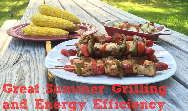 Summer Grilling done with Project Envolve and Energy Efficiency