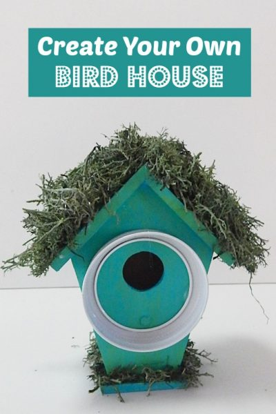 Decorative Bird House Tutorial