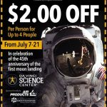 DaVinci Science Center Coupon–EXPIRED!