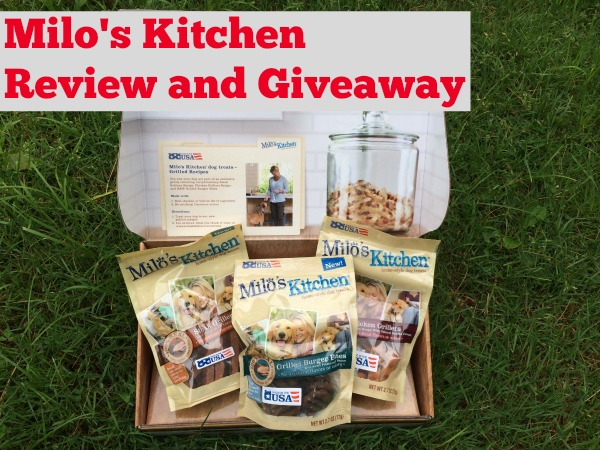 Milo's Kitchen Review and Giveaway