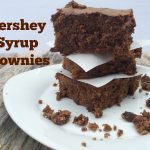 Homemade Brownies Using Hershey Syrup