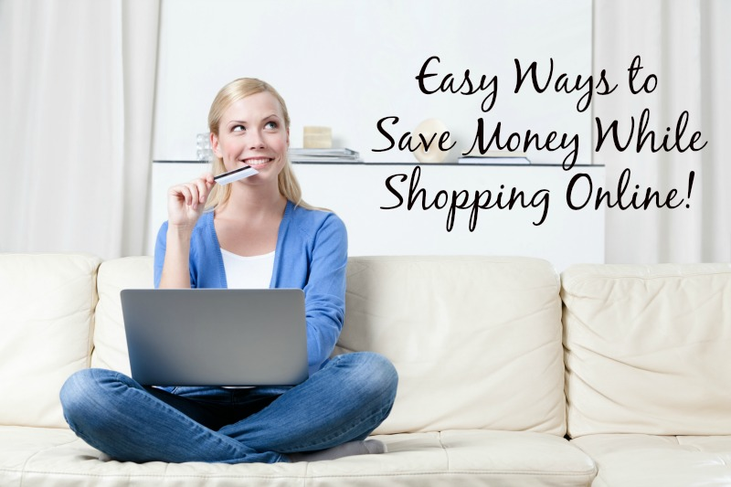 Easy Ways to Save Money While Shopping Online--just in time for the Holiday Season! Save time and money and shop online!
