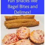 Fueling Up with fun snacks from Bagel Bites and Delimex!