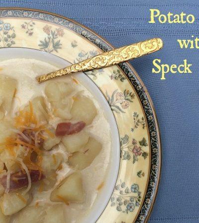 Easy Potato Soup Recipe with Speck Ham
