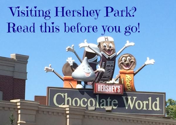 Hershey Park in Hershey Pa