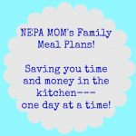 Family Meal Plan 9/21-9/27