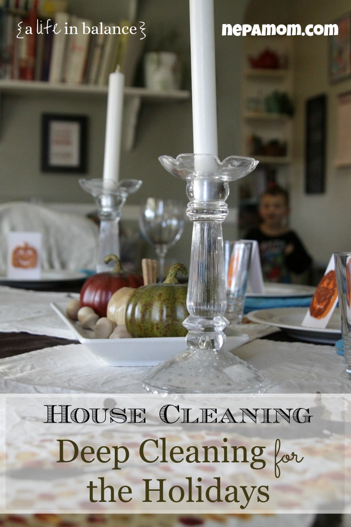 House Cleaning: Deep Cleaning for the Holidays