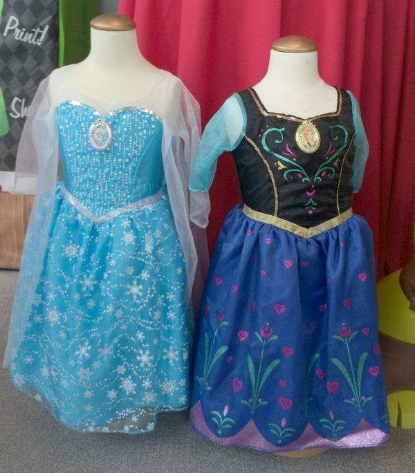 Anna and Elsa Dresses