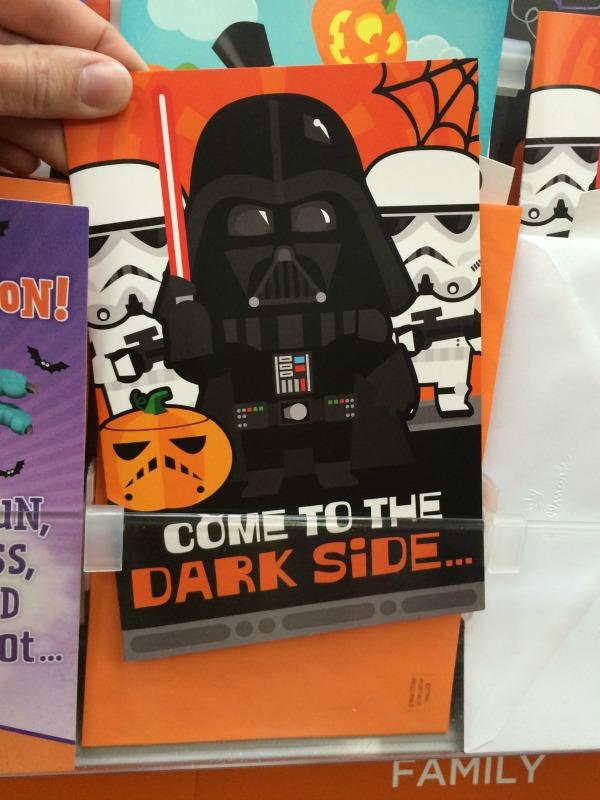Star Wars Halloween Card