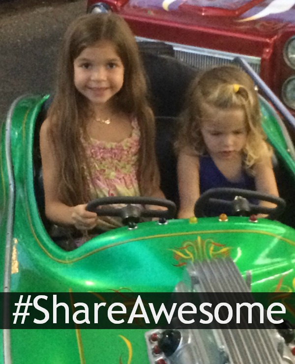 #ShareAwesome