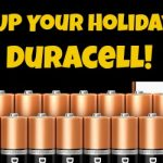 Power Up Your Holidays With Duracell #PowerTheHolidays