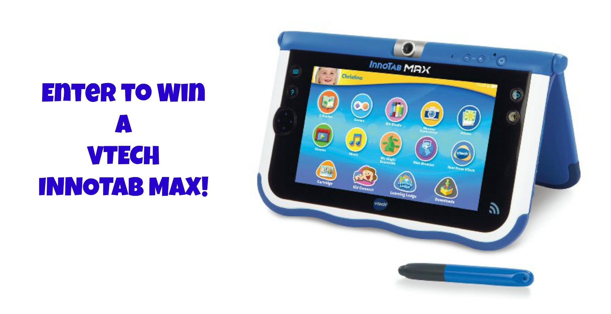Enter to win a VTECH InnoTab Max-www.nepamom.com