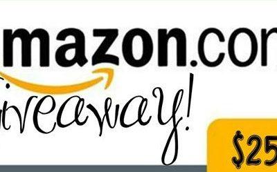 $250 Amazon Gift Card Giveaway!
