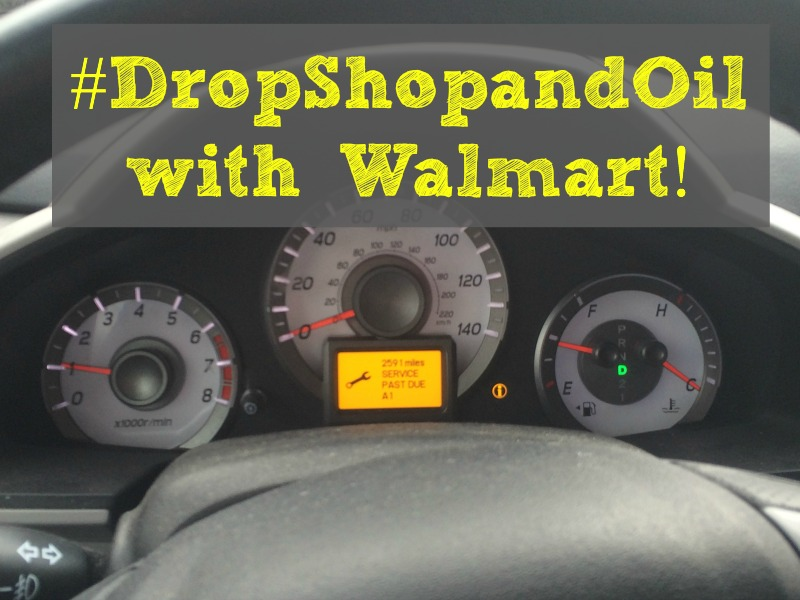 DropShopandOil at Walmart makes my busy life easier! I can get my oil changed and my groceries in one quick trip!#DropShopandOil #ad