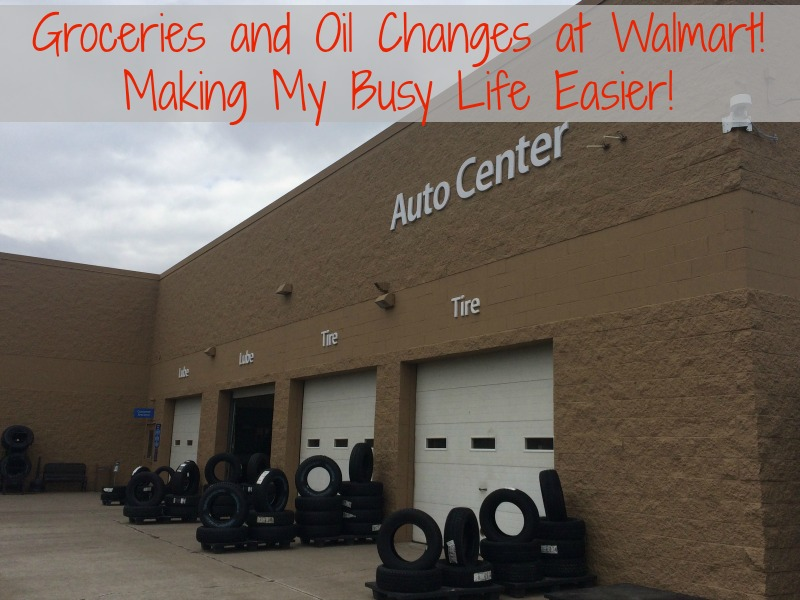 Groceries and Oil Changes at Walmart! Making my busy life easier with one stop shopping!#DropShopandOil #ad