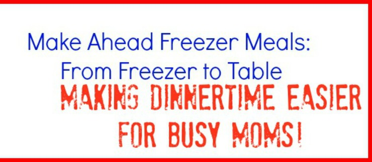 Make Ahead Freezer Meals Slider image