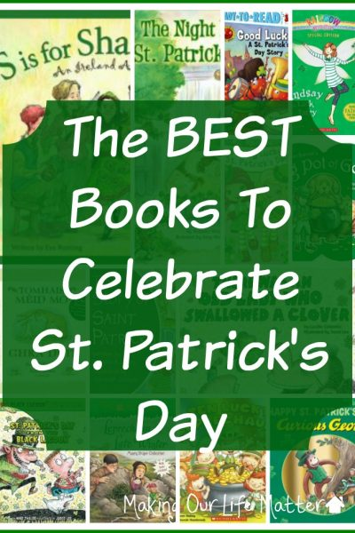 The BEST Books To Celebrate St. Patrick's Day
