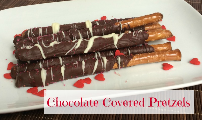 This Chocolate Covered Pretzels recipe is so easy to make and they taste GREAT! No one has to know how easy they are to make!