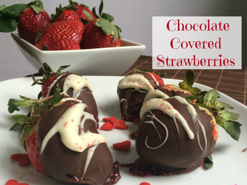 Recipe for Chocolate Covered Strawberries--the perfect sweet treat!