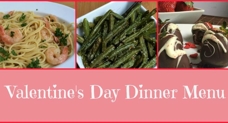 Featured Valentine's Day Dinner Menu