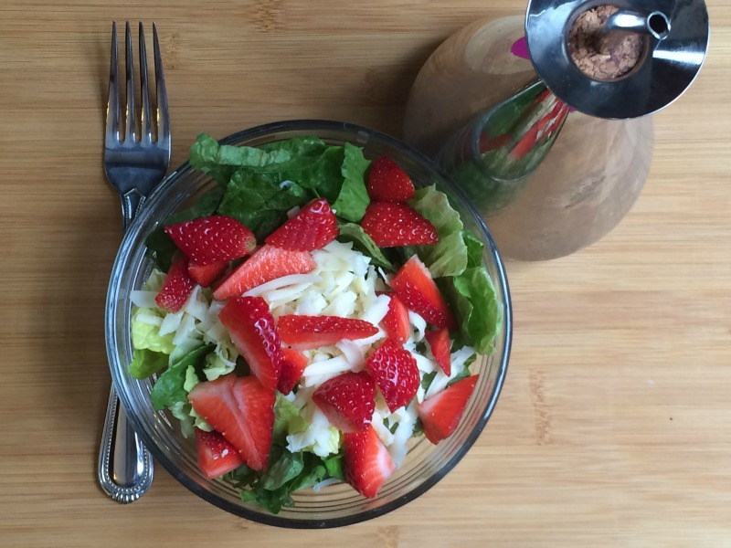 Healthy salad to boost your Immune system   #24HourEsterC #Ad