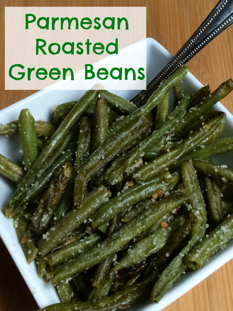 Parmesan Roasted Green Beans are a favorite side dish in our house! They go great with both everyday and special occasion dinners and are full of flavor your whole family will love!