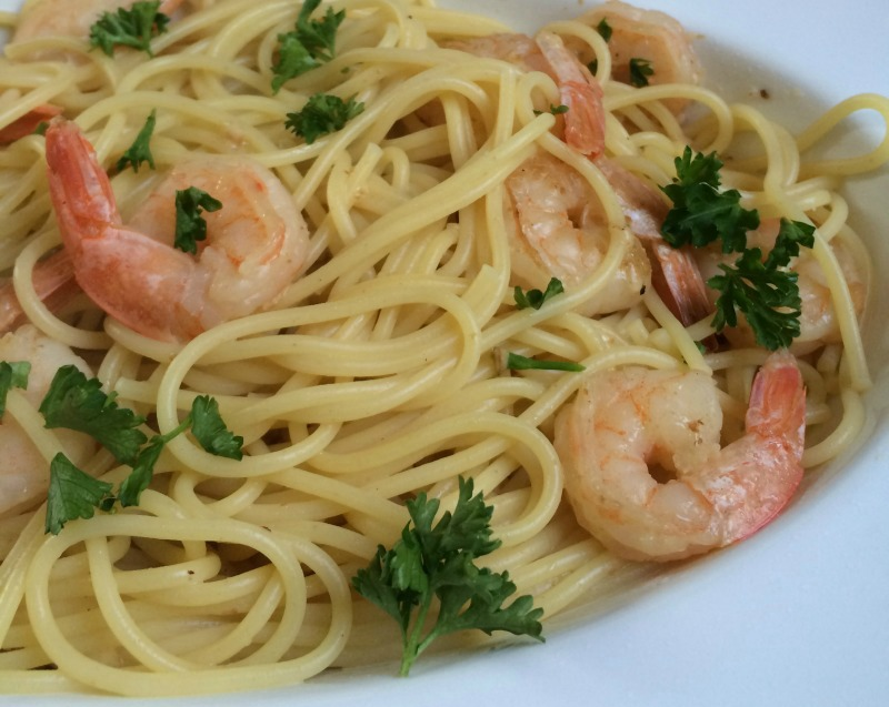 Shrimp Scampi Recipe--Easy Healthy Dinners