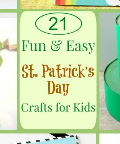St Patrick's Day Kids Crafts