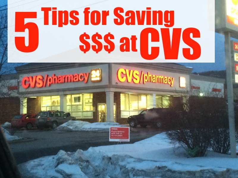 5 Tips for Saving $$$ at CVS--trust me, its EASY!